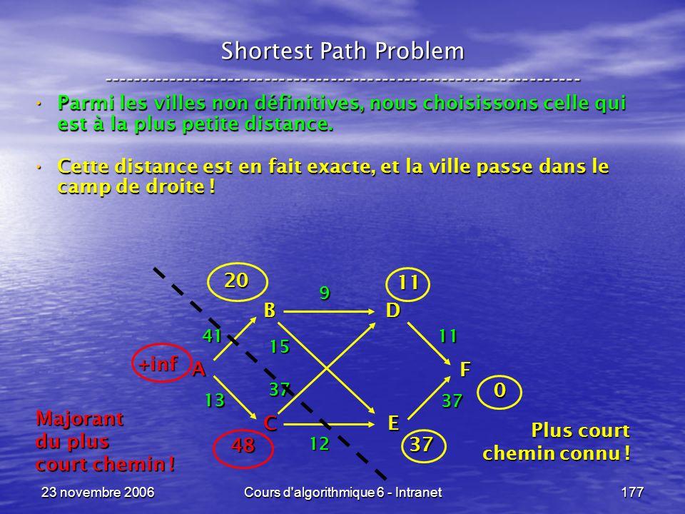 Cours d algorithmique 6 - Intranet