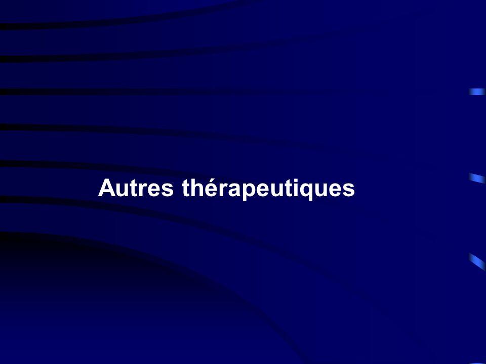 Autres thérapeutiques