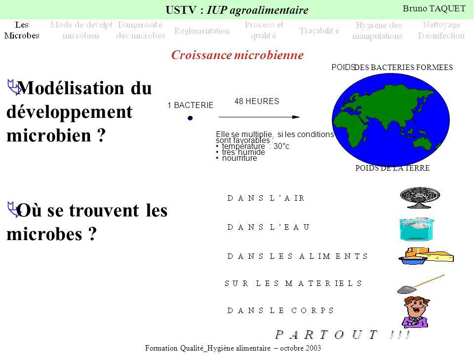 Croissance microbienne