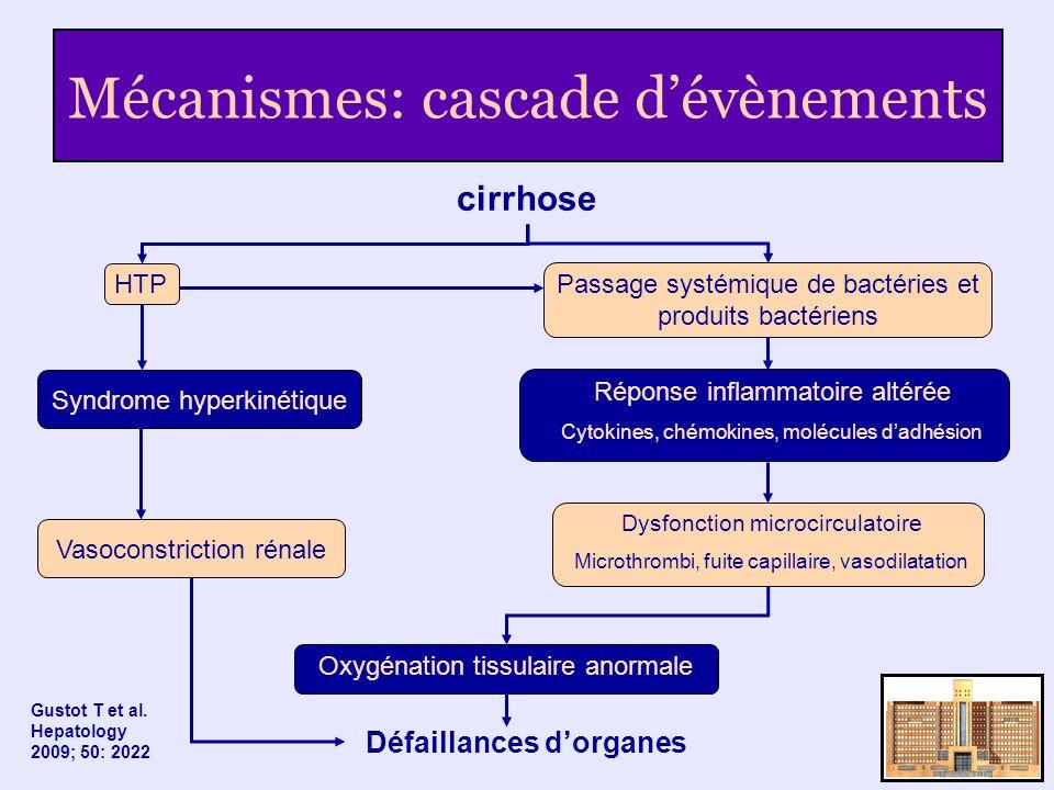 Mécanismes: cascade d'évènements