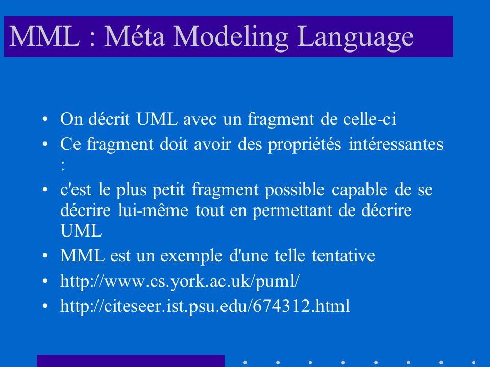 MML : Méta Modeling Language