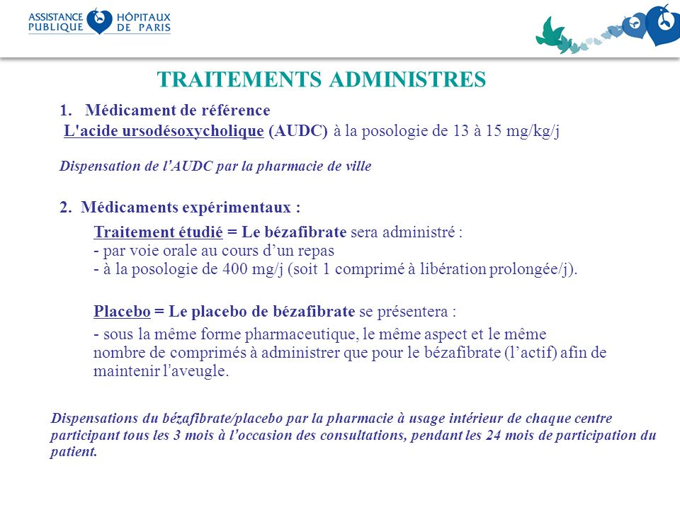 TRAITEMENTS ADMINISTRES