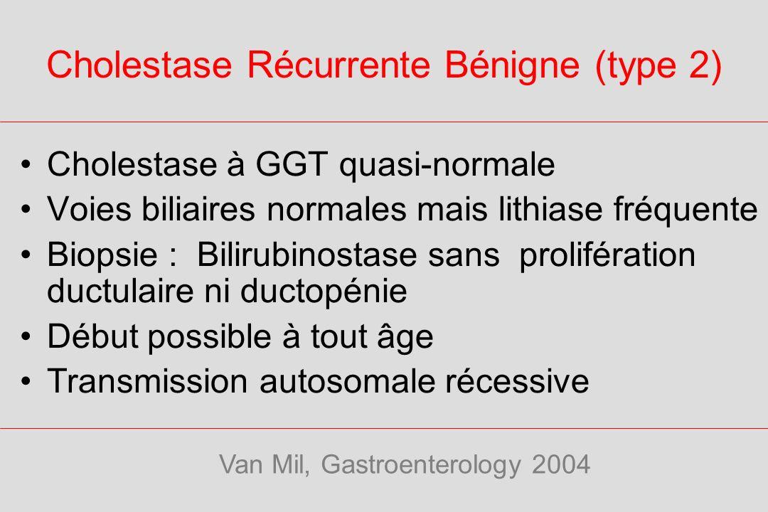 Cholestase Récurrente Bénigne (type 2)