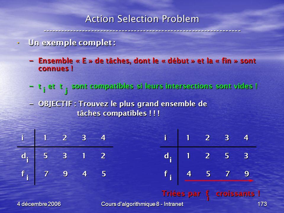 Cours d algorithmique 8 - Intranet