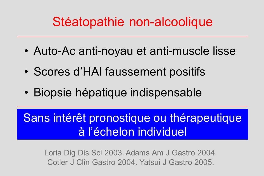 Stéatopathie non-alcoolique