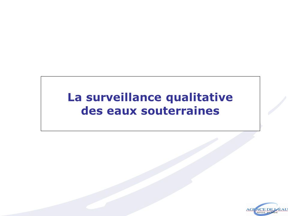 La surveillance qualitative