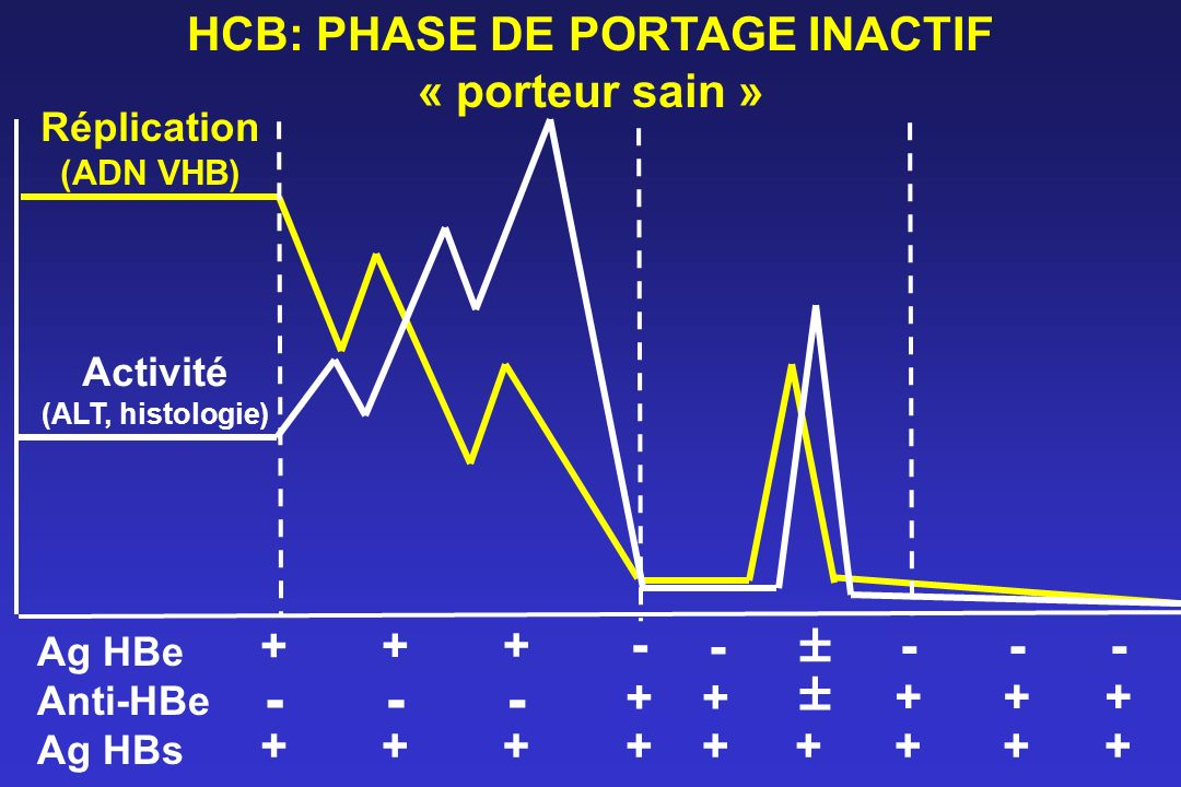 HCB: PHASE DE PORTAGE INACTIF