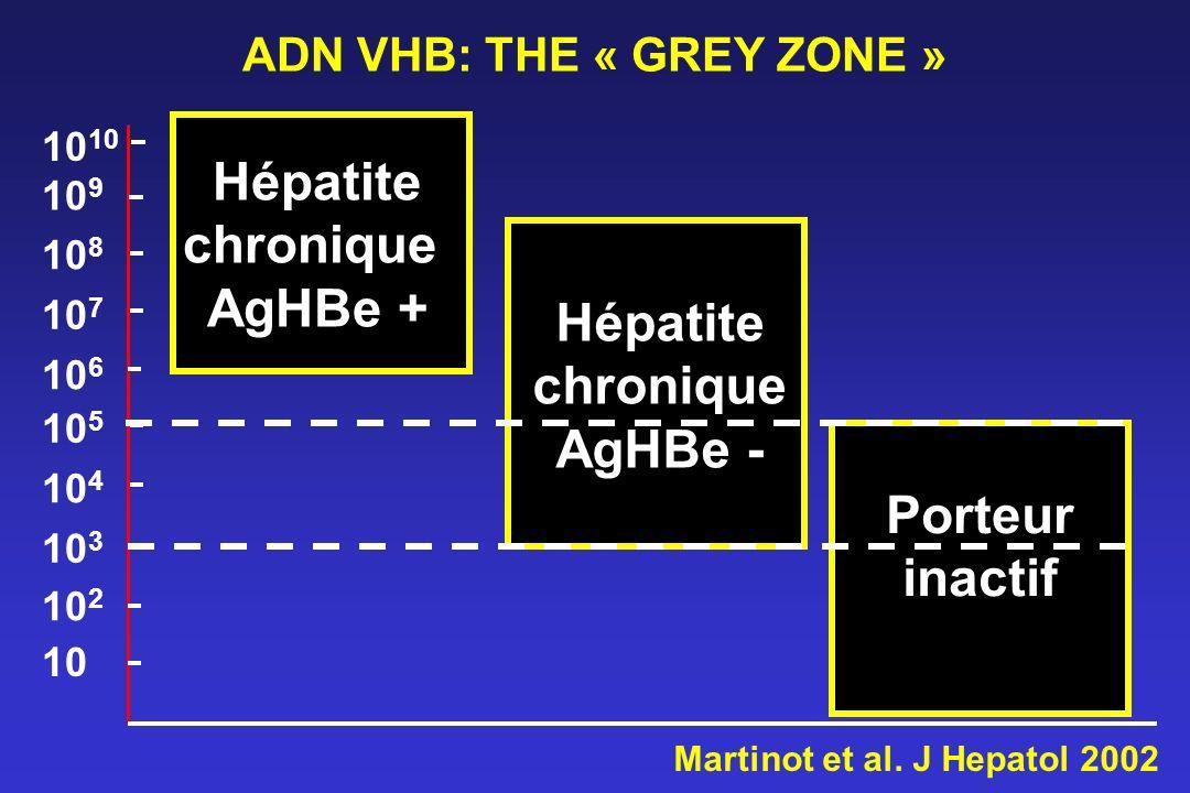 ADN VHB: THE « GREY ZONE »
