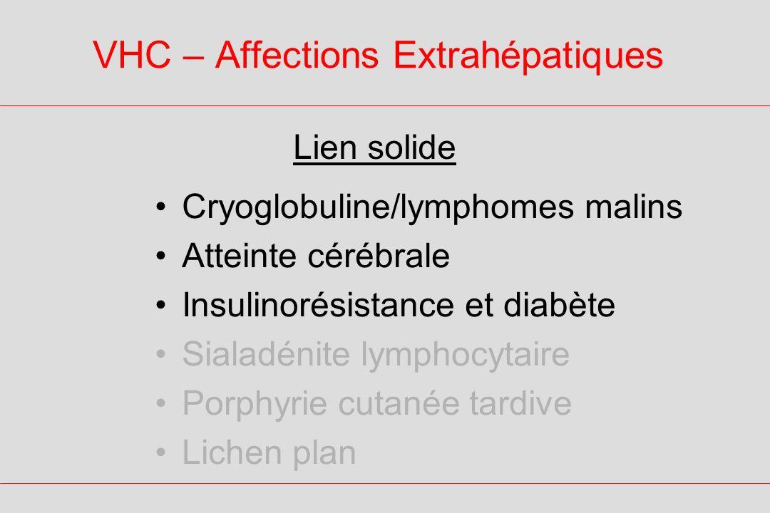 VHC – Affections Extrahépatiques