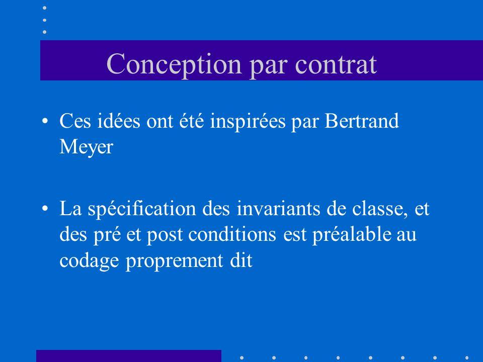 Conception par contrat