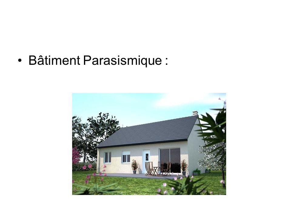 Bâtiment Parasismique :