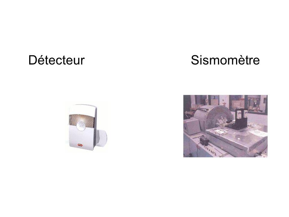 Détecteur Sismomètre