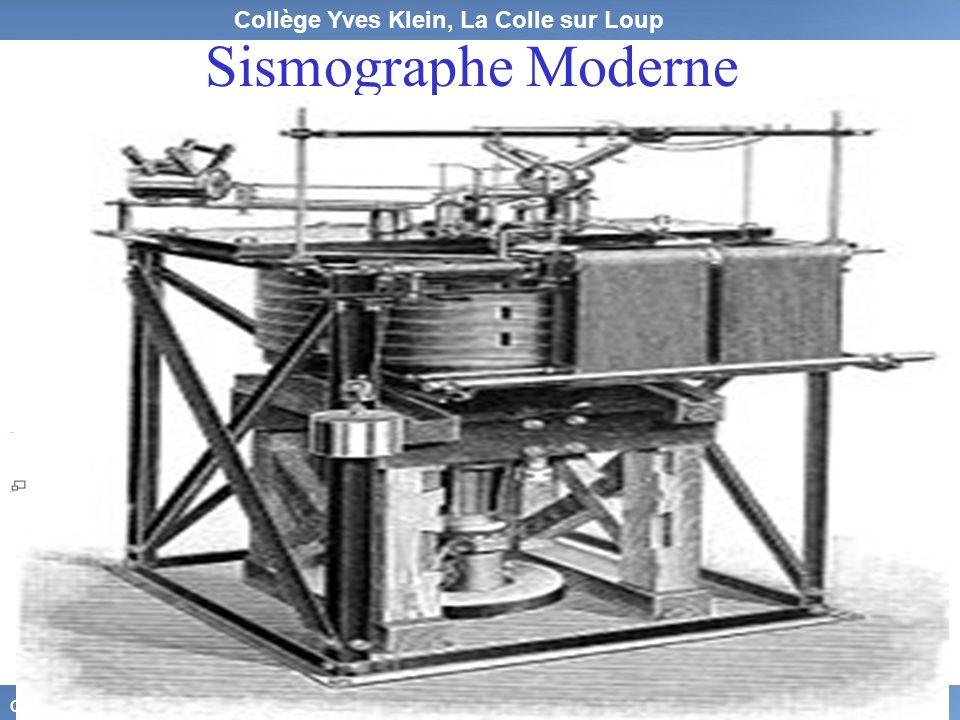 Sismographe Moderne