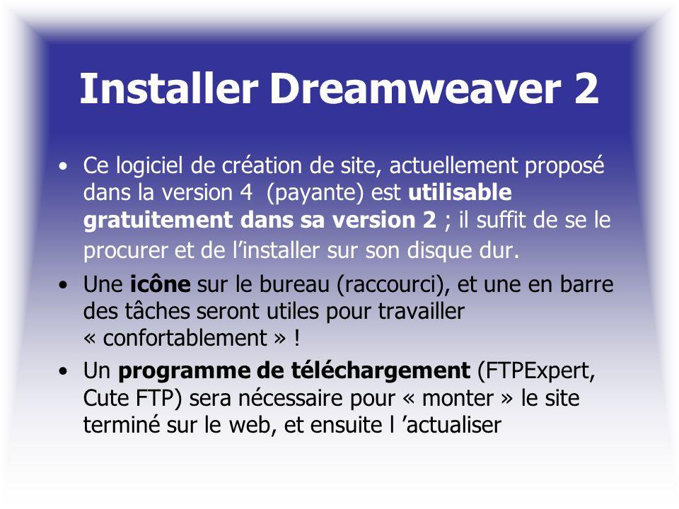 Installer Dreamweaver 2