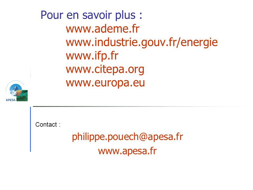 philippe.pouech@apesa.fr www.apesa.fr
