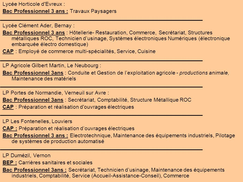 Lycée Horticole d Evreux :