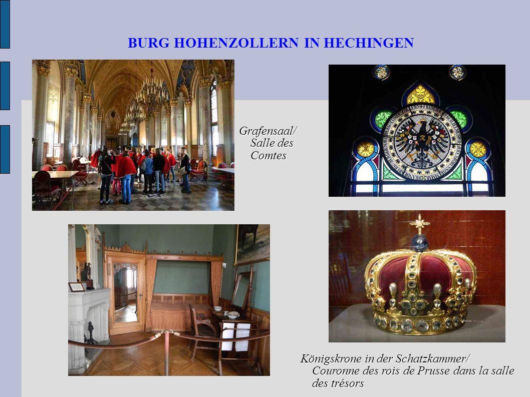 BURG HOHENZOLLERN IN HECHINGEN