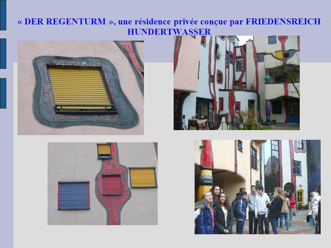 « DER REGENTURM », une résidence privée conçue par FRIEDENSREICH HUNDERTWASSER