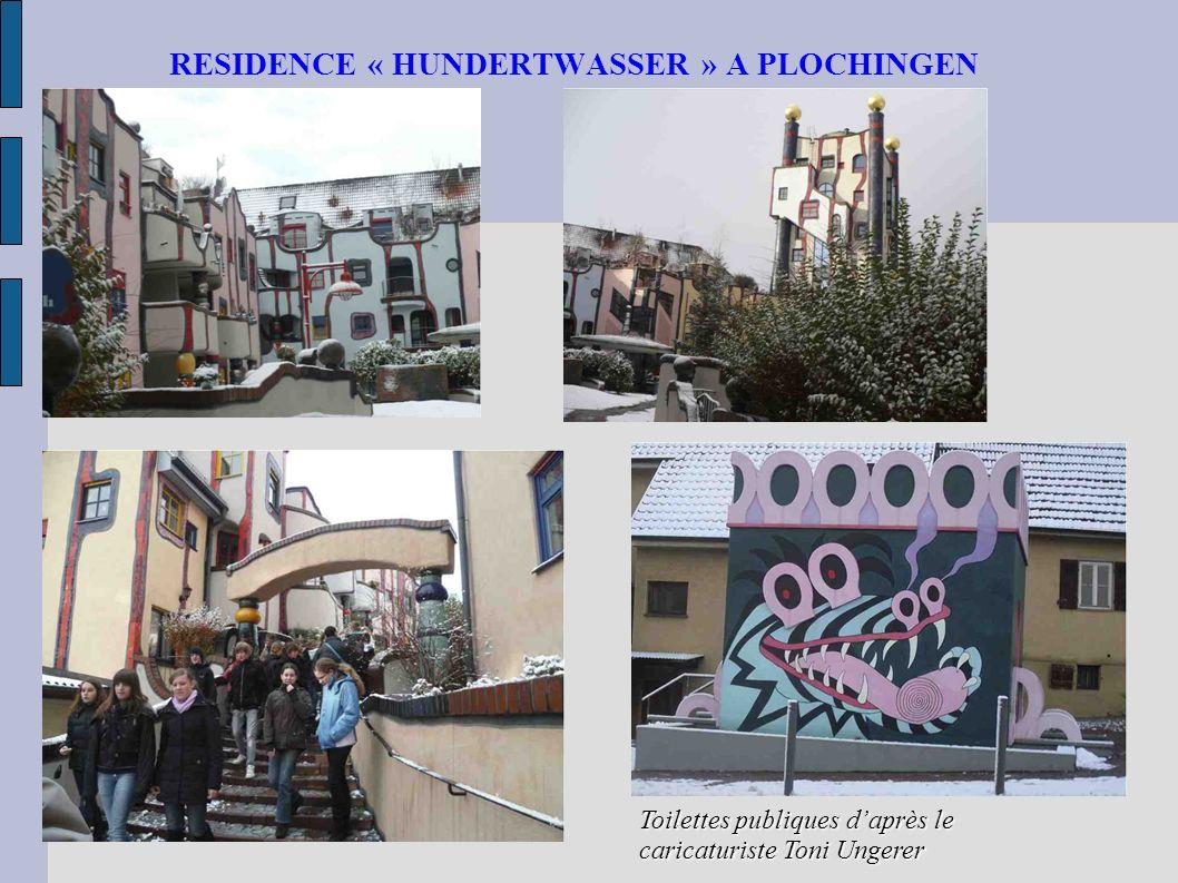 RESIDENCE « HUNDERTWASSER » A PLOCHINGEN