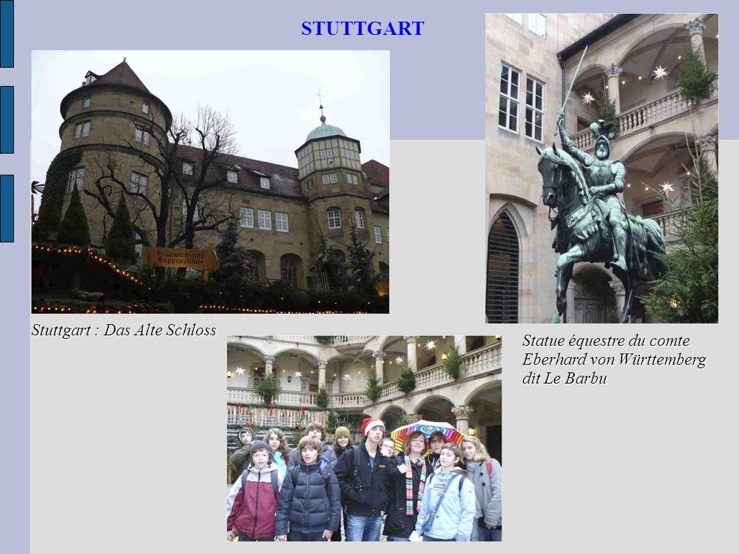 STUTTGART Stuttgart : Das Alte Schloss