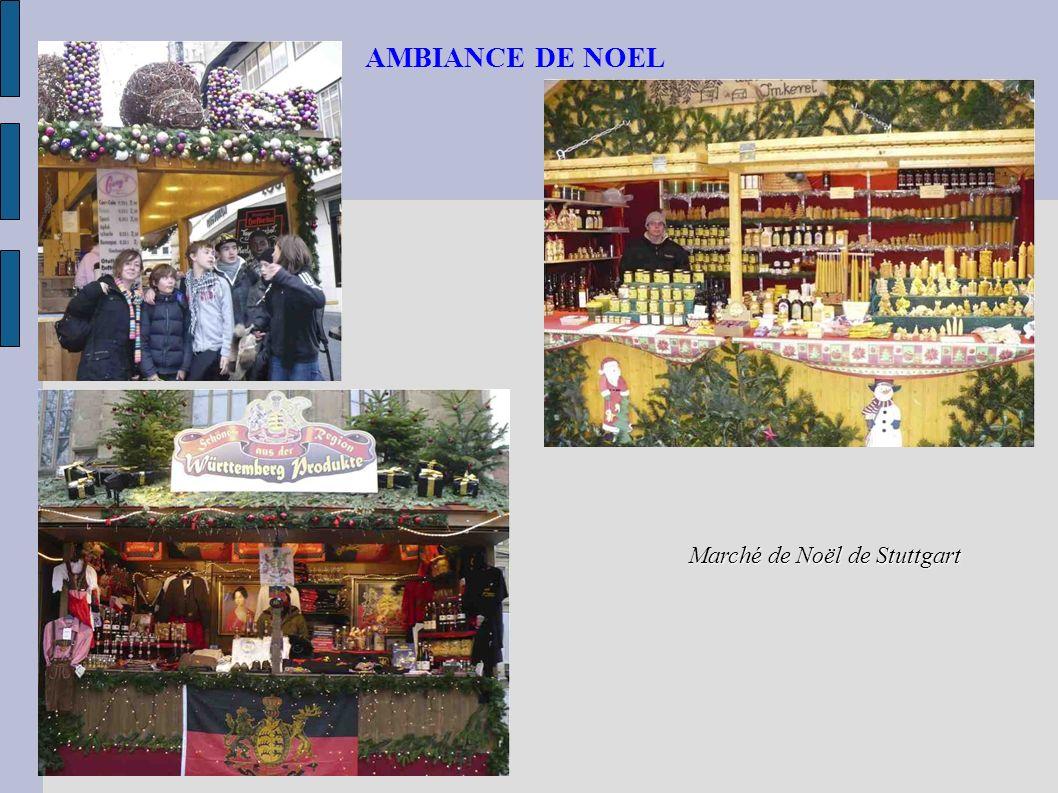 AMBIANCE DE NOEL Marché de Noël de Stuttgart
