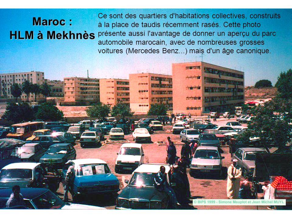 Maroc : HLM à Mekhnès