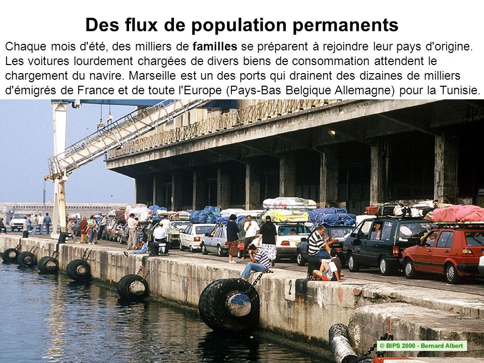 Des flux de population permanents