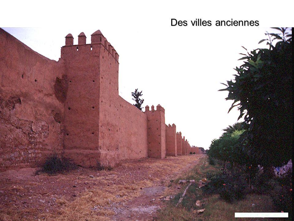 Des villes anciennes