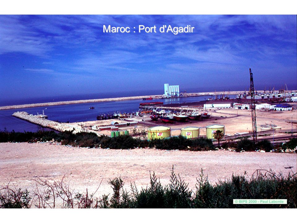 Maroc : Port d Agadir