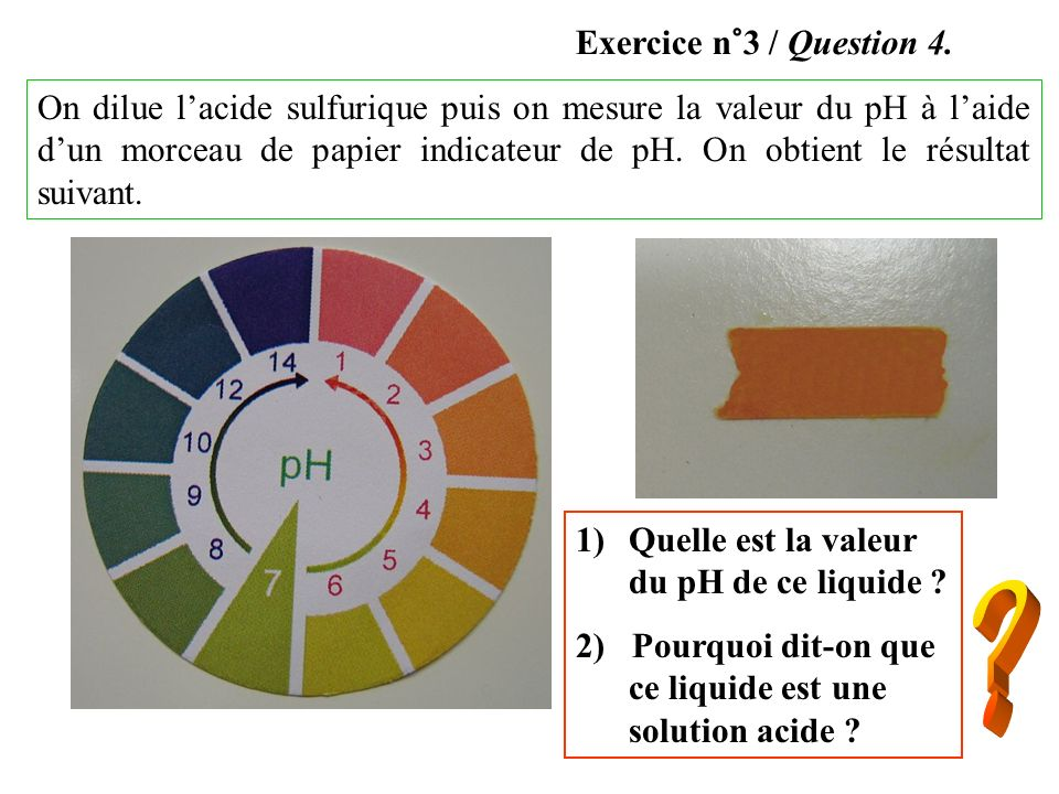 Exercice n°3 / Question 4.