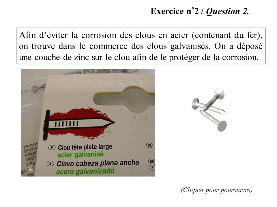 Exercice n°2 / Question 2.