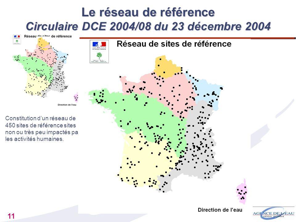 Le réseau de référence Circulaire DCE 2004/08 du 23 décembre 2004