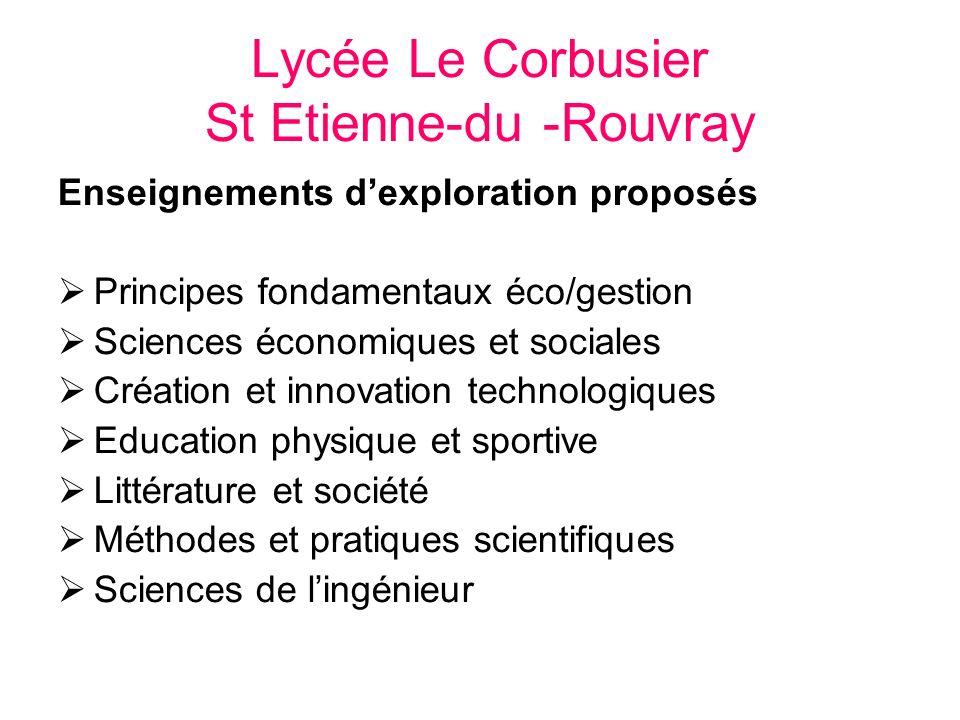 Lycée Le Corbusier St Etienne-du -Rouvray