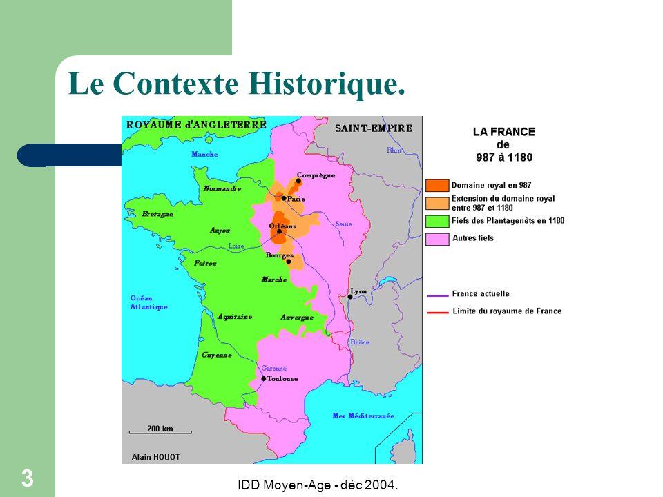 Le Contexte Historique.