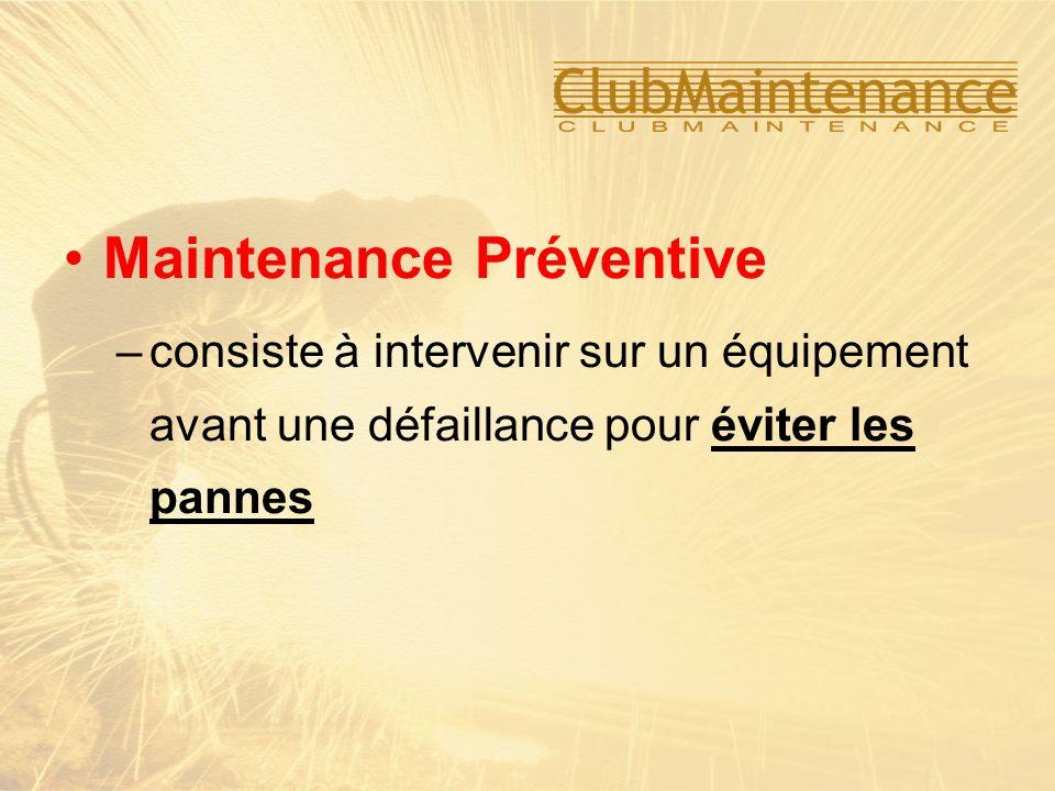 Maintenance Préventive