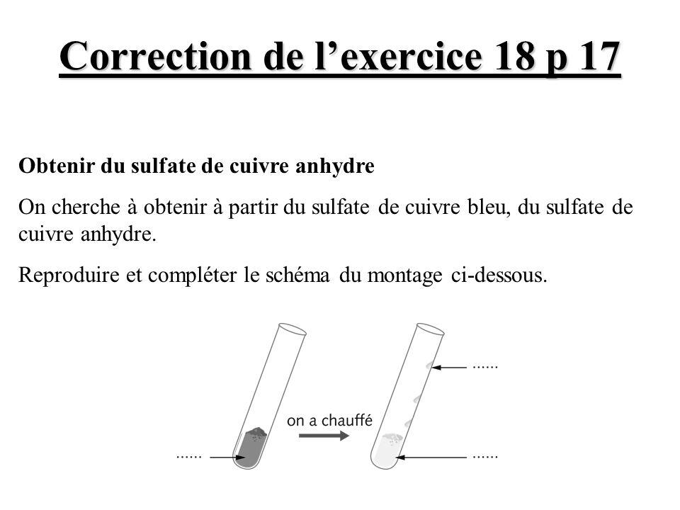 Correction de l'exercice 18 p 17