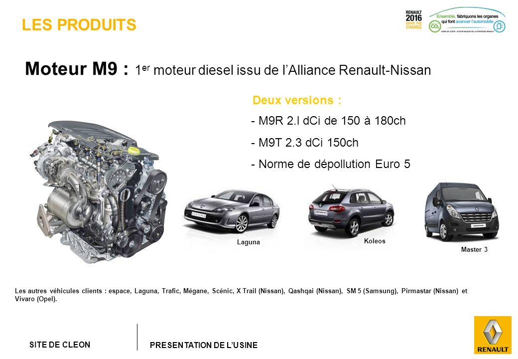 Moteur M9 : 1er moteur diesel issu de l'Alliance Renault-Nissan