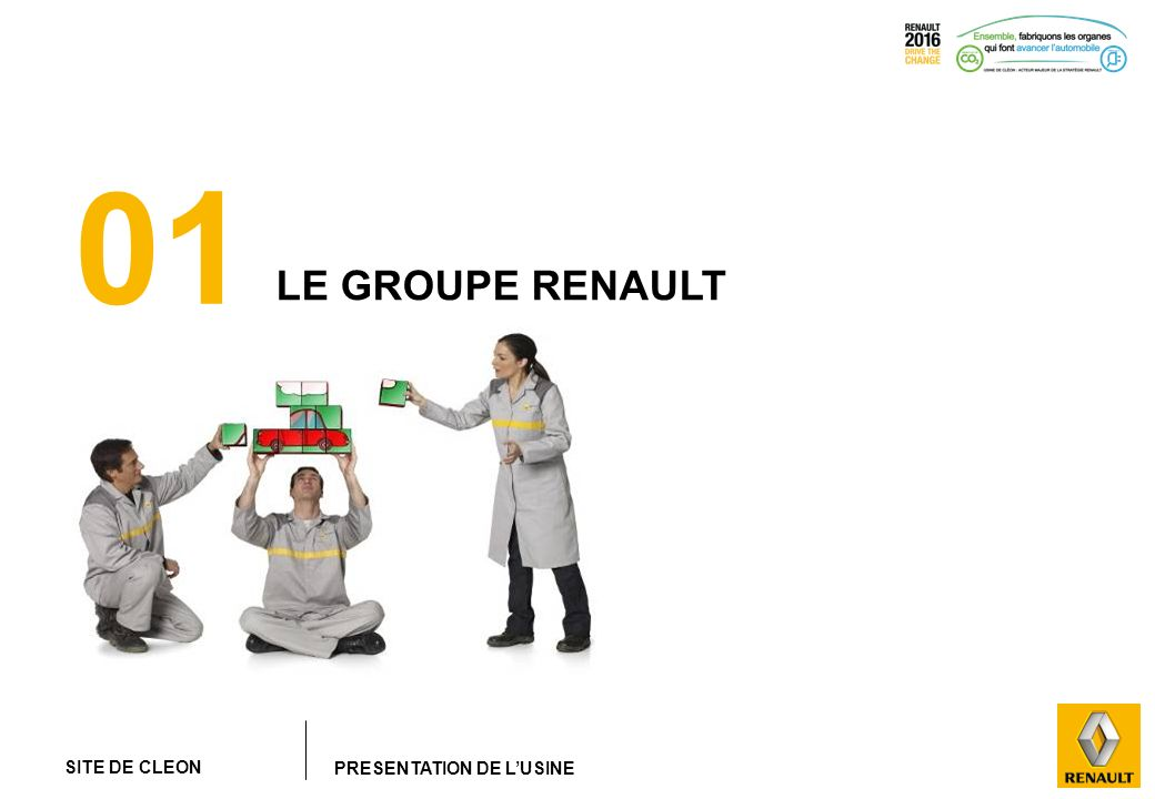 01 LE GROUPE RENAULT