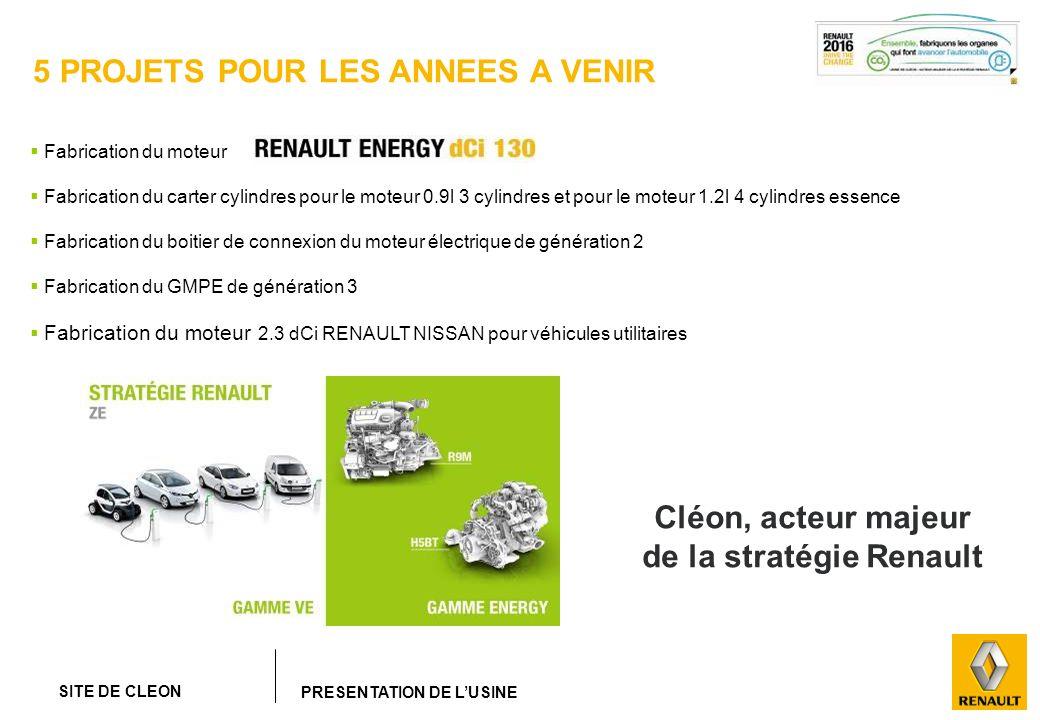 Cléon, acteur majeur de la stratégie Renault