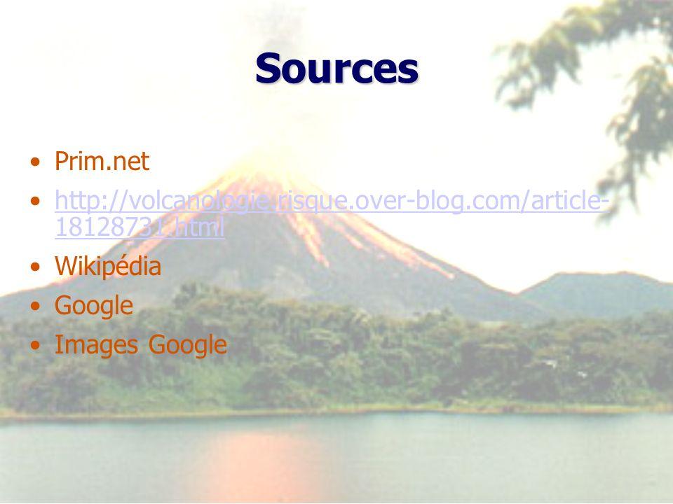 SourcesPrim.net. http://volcanologie.risque.over-blog.com/article-18128731.html. Wikipédia. Google.