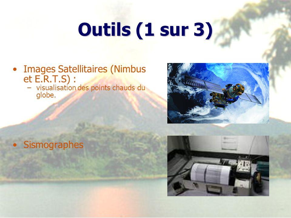 Outils (1 sur 3) Images Satellitaires (Nimbus et E.R.T.S) :