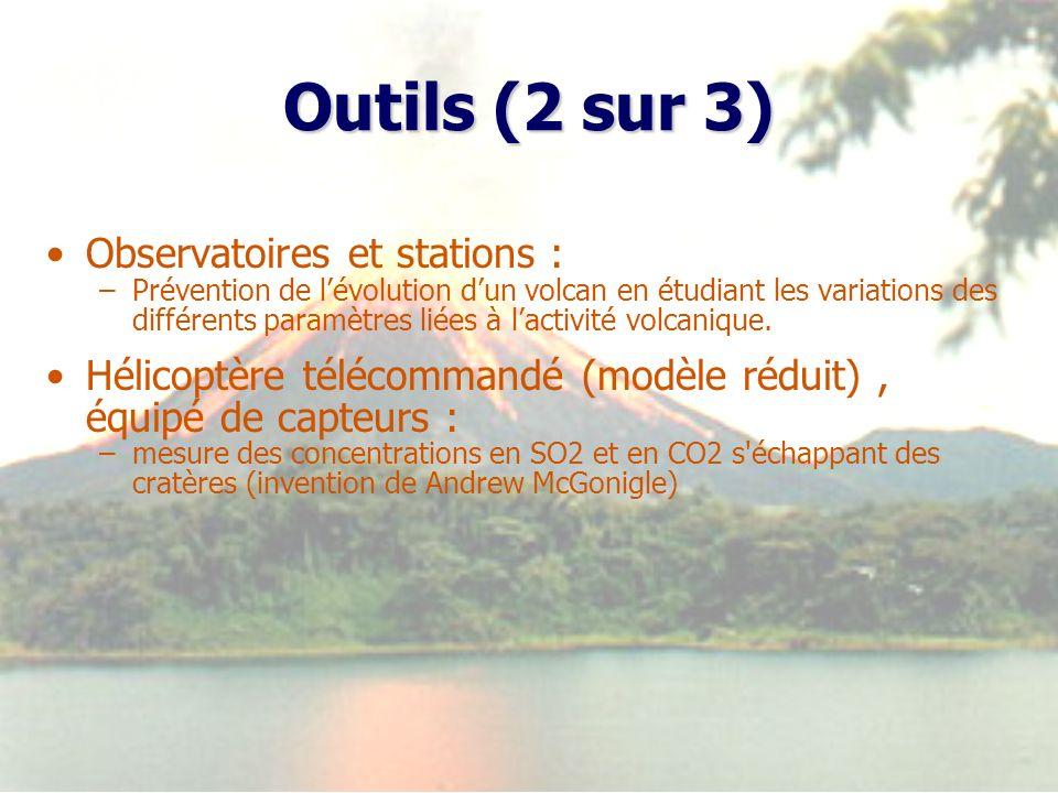 Outils (2 sur 3) Observatoires et stations :