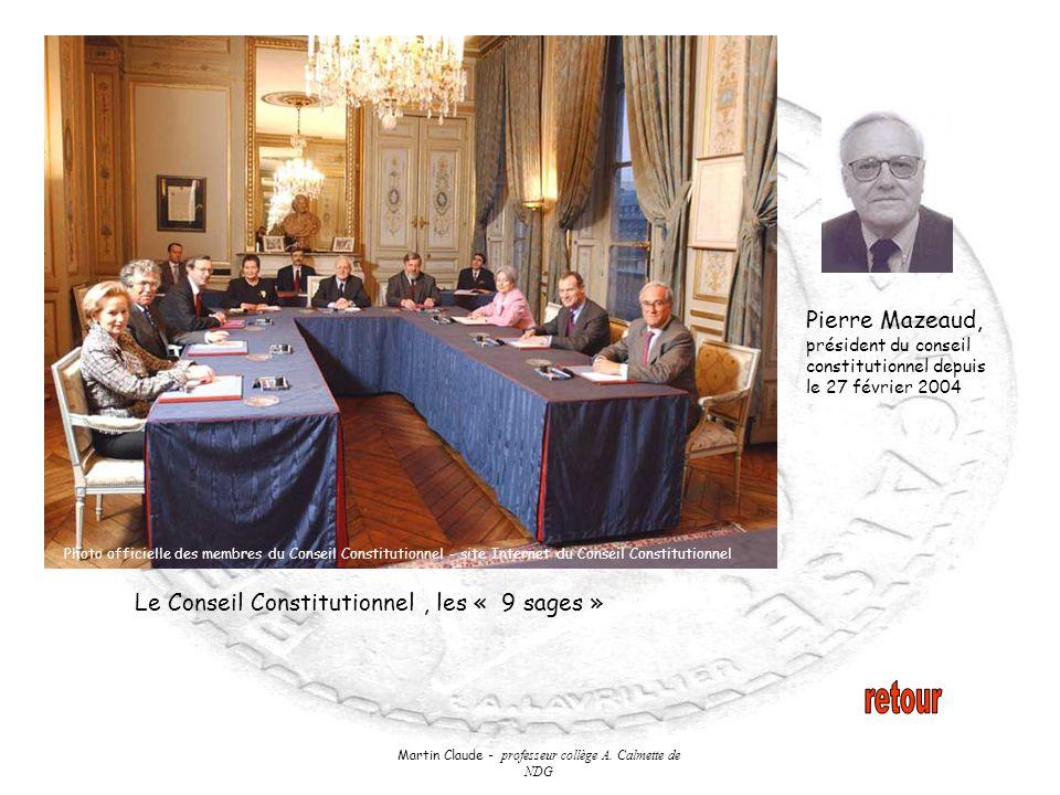 Martin Claude - professeur collège A. Calmette de NDG