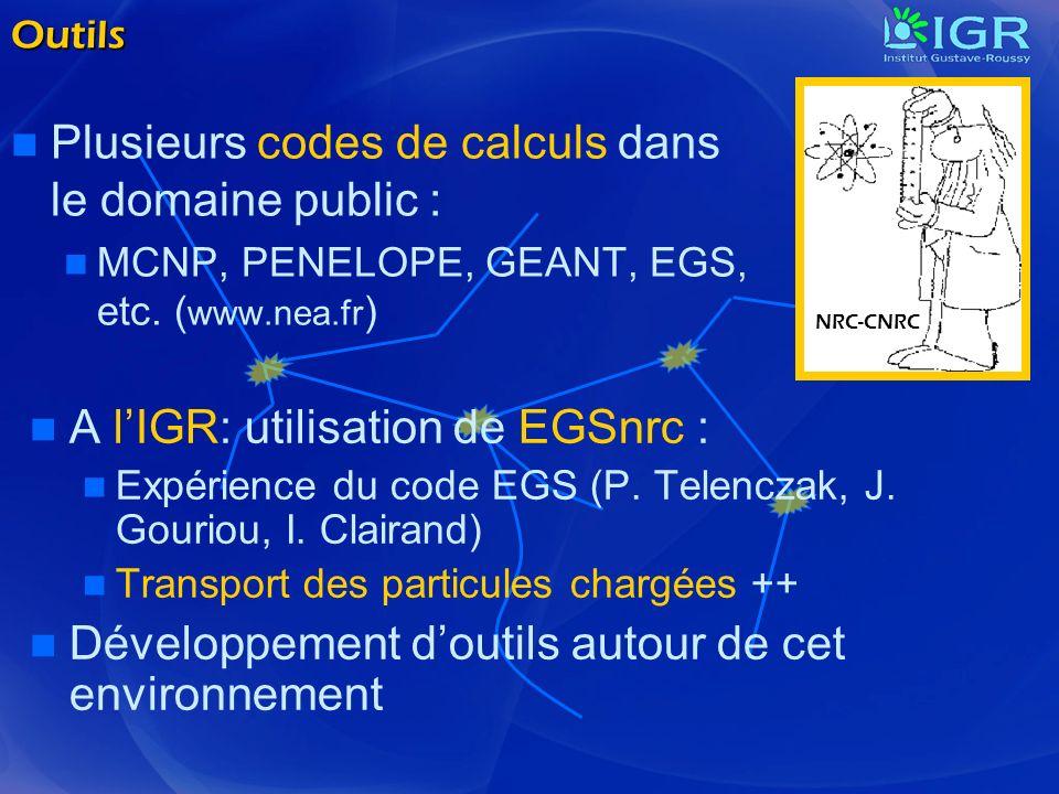 Plusieurs codes de calculs dans le domaine public :