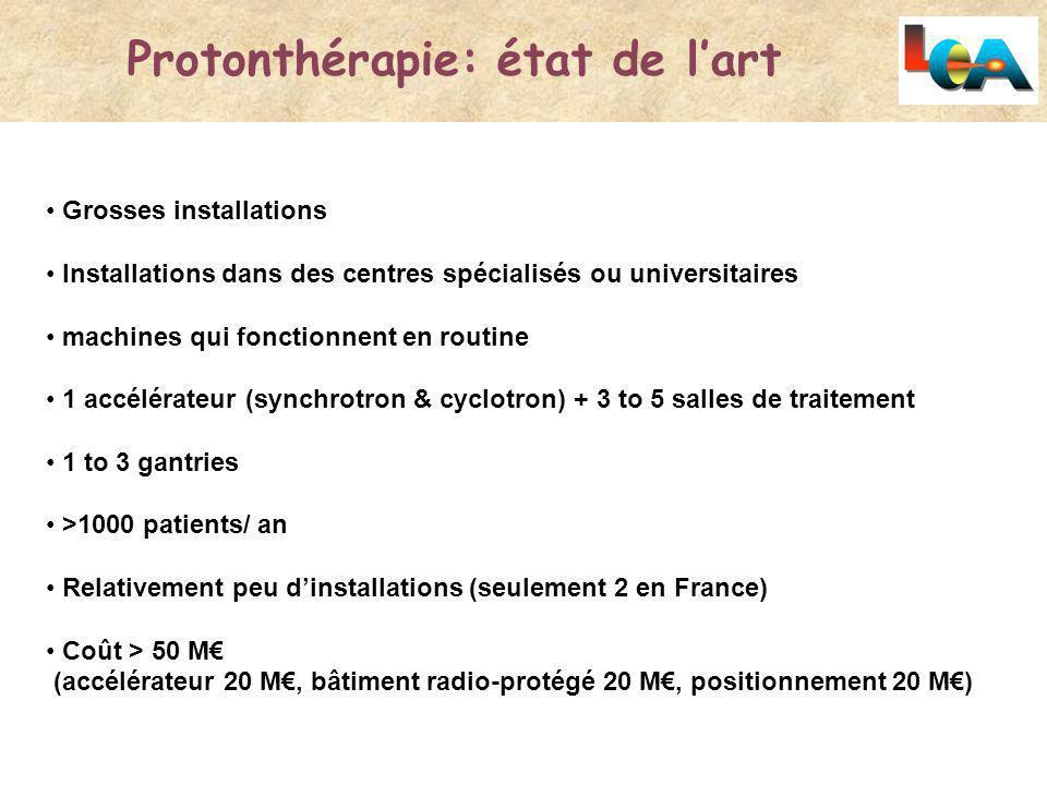 Protonthérapie: état de l'art