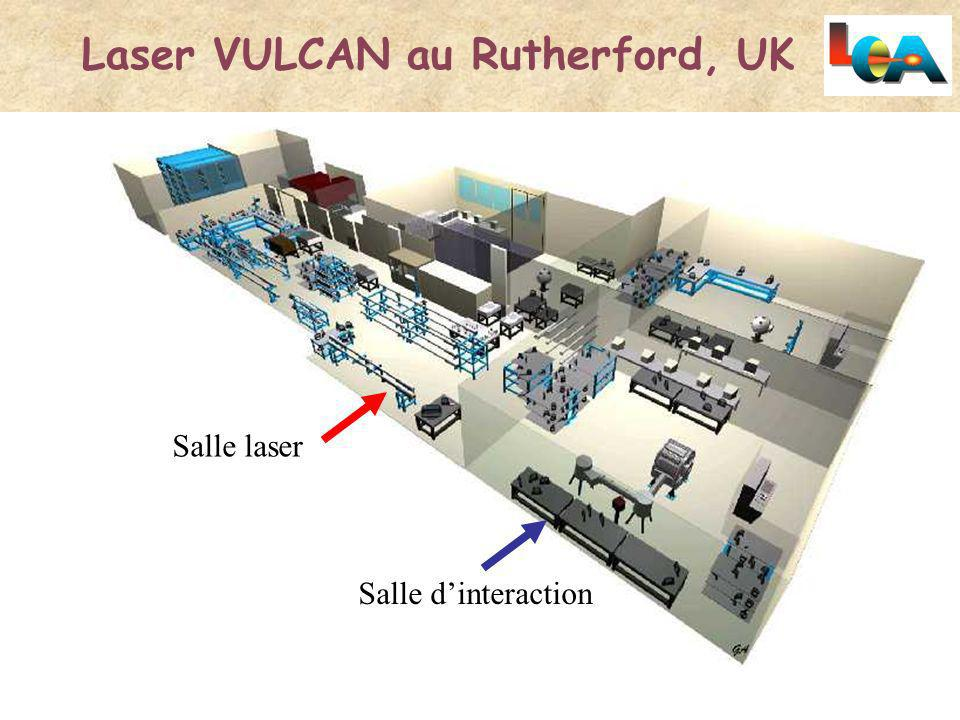 Laser VULCAN au Rutherford, UK