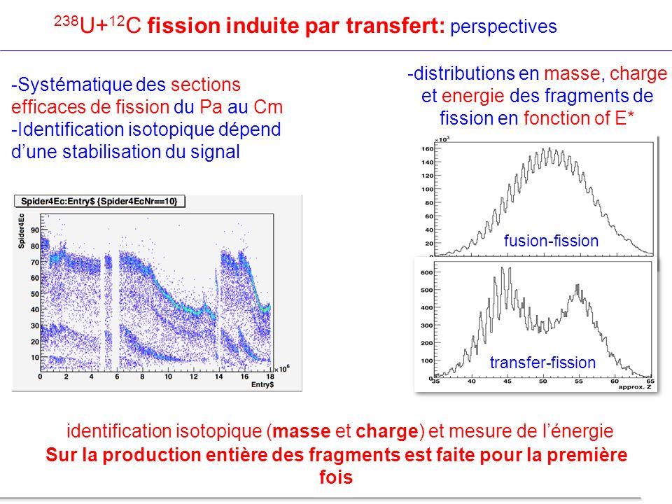 identification isotopique (masse et charge) et mesure de l'énergie