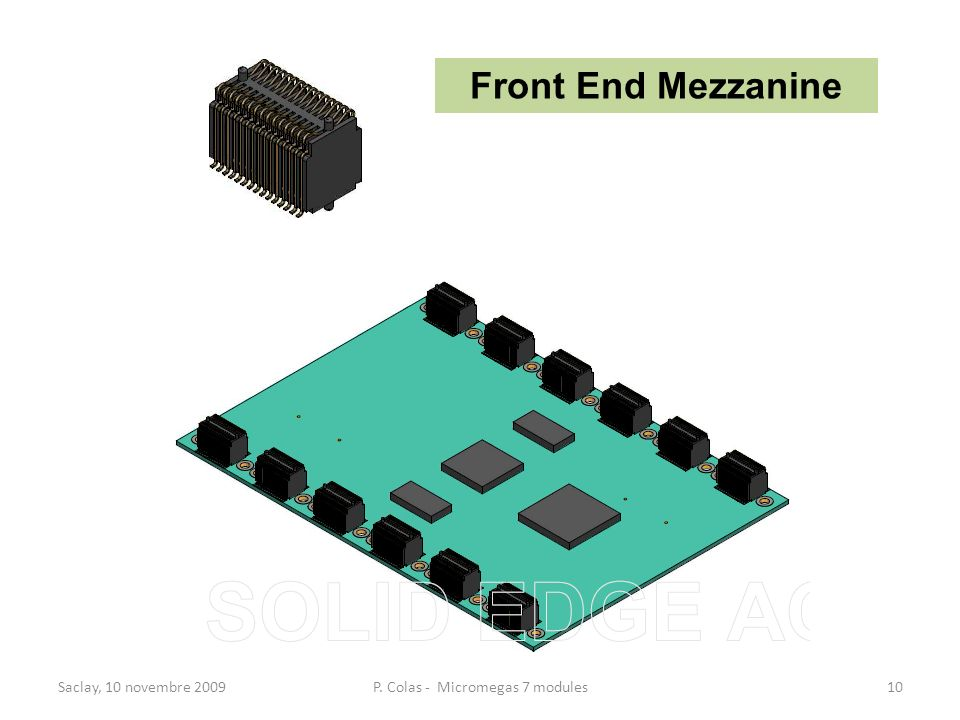 P. Colas - Micromegas 7 modules
