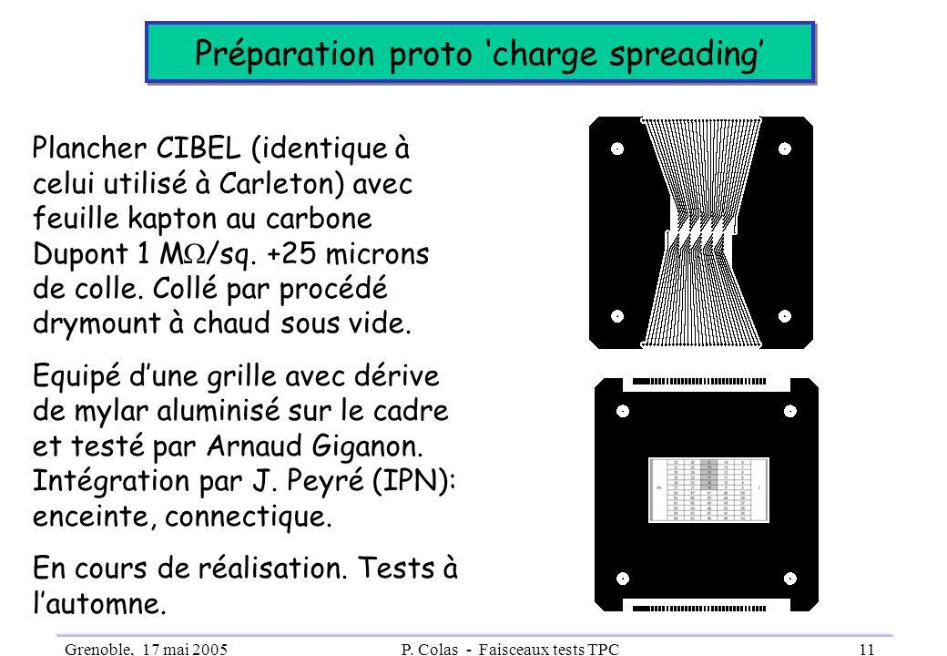 Préparation proto 'charge spreading'