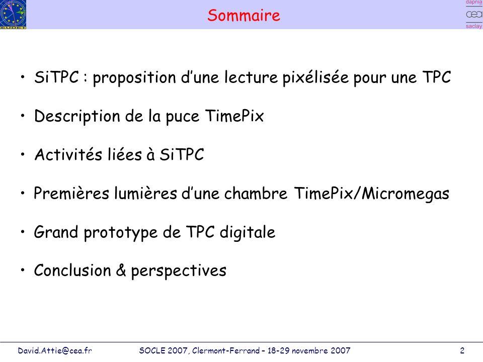 SOCLE 2007, Clermont-Ferrand – 18-29 novembre 2007